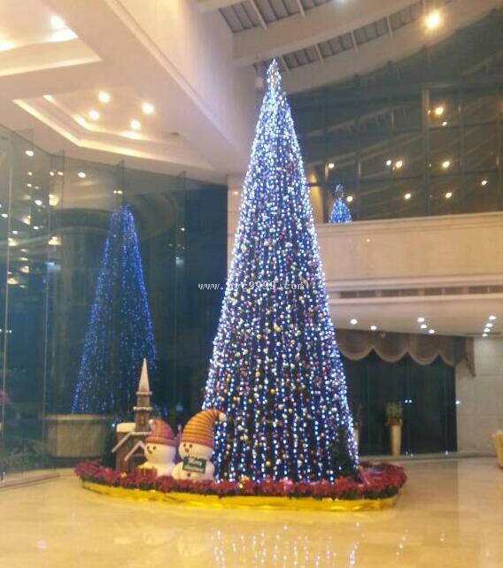 大型灯会彩灯,大型圣诞树